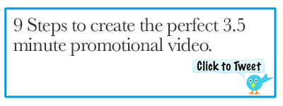Tweet: 9 Steps to Create a Powerful Promo Video http://ctt.ec/kTgHq+ #promovideo
