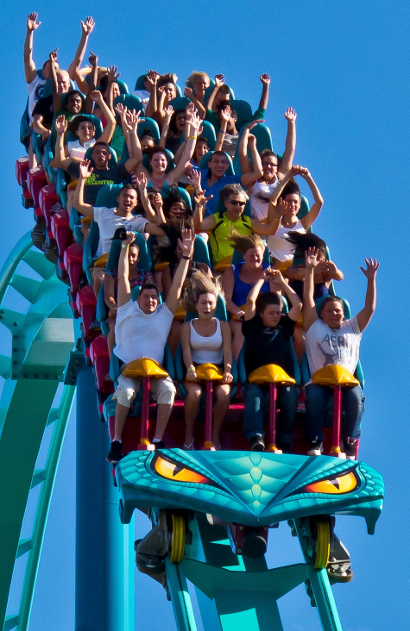 PPC can be like a roller coaster. Fun and scary.