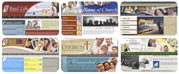 ChurchSquare Interactive Websites Templates For Christian Churches - Church web templates